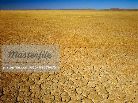Cracked Earth, Dry Lake Bed, Australia Stock Photo - Premium Royalty-Free, Image code: 600-02886675