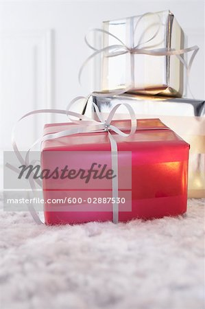 Gifts Stock Photo - Premium Royalty-Free, Image code: 600-02887530