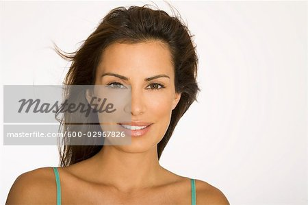 Portrait of Woman Stock Photo - Premium Royalty-Free, Image code: 600-02967826