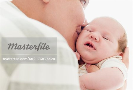Mother and Newborn Baby Stock Photo - Premium Royalty-Free, Image code: 600-03003428