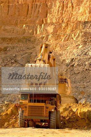 Open Pit Mining, Ghana, Africa