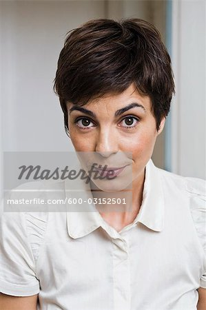 Portrait of Woman Stock Photo - Premium Royalty-Free, Image code: 600-03152501
