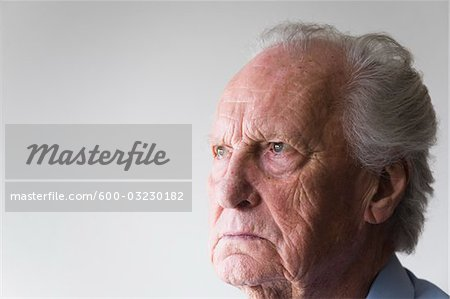 Portrait of Man Stock Photo - Premium Royalty-Free, Image code: 600-03230182