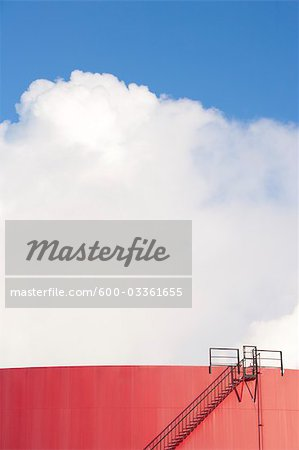 Refinery, Edmonton, Alberta, Canada Stock Photo - Premium Royalty-Free, Image code: 600-03361655