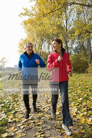 Couple Hiking Stock Photo - Premium Royalty-Free, Image code: 600-03403949