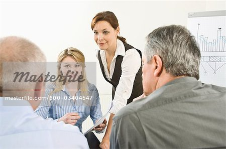 Business Meeting Stock Photo - Premium Royalty-Free, Image code: 600-03404547