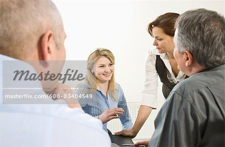 Business Meeting Stock Photo - Premium Royalty-Free, Image code: 600-03404549