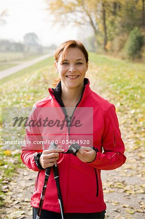 Portrait of Woman Stock Photo - Premium Royalty-Free, Image code: 600-03404920