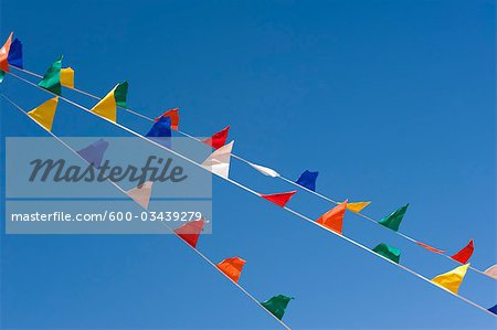 Colourful Flags Stock Photo - Premium Royalty-Free, Image code: 600-03439279