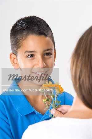 Portrait of Boy Stock Photo - Premium Royalty-Free, Image code: 600-03456255