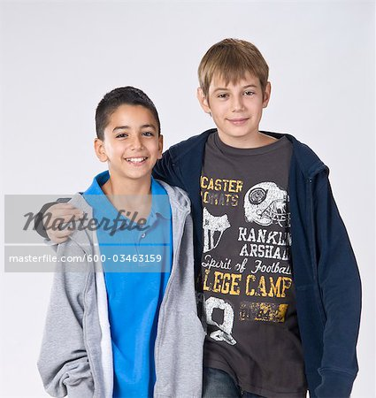 Portrait of Boys Stock Photo - Premium Royalty-Free, Image code: 600-03463159