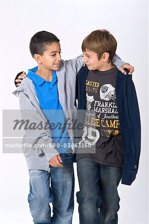 Portrait of Boys Stock Photo - Premium Royalty-Free, Image code: 600-03463160
