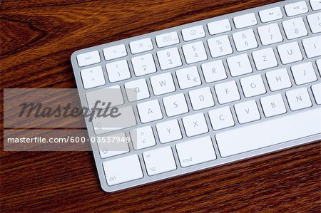 Close-up of Computer Keyboard Stock Photo - Premium Royalty-Free, Image code: 600-03537949