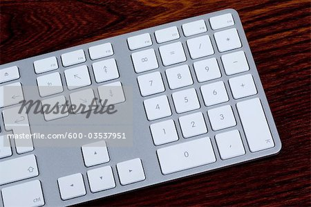 Close-up of Computer Keyboard Stock Photo - Premium Royalty-Free, Image code: 600-03537951