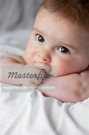 Portrait of Baby Boy Stock Photo - Premium Royalty-Free, Image code: 600-03556609