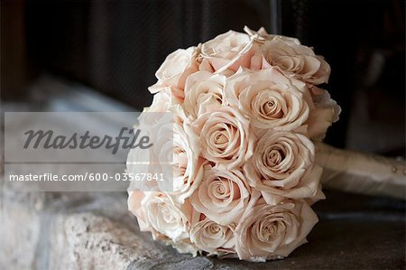 Bridal Bouquet Stock Photo - Premium Royalty-Free, Image code: 600-03567841