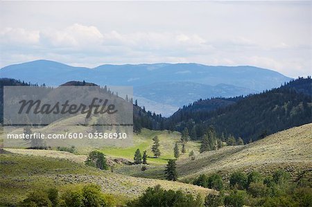 Landscape, British Columbia, Canada Stock Photo - Premium Royalty-Free, Image code: 600-03586910