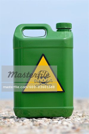 Jerry Can with Skull and Crossbones Stock Photo - Premium Royalty-Free, Image code: 600-03601388