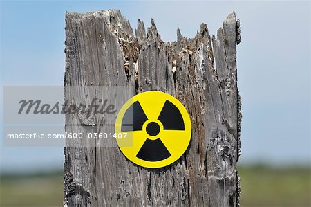 Radioactive Symbol Stock Photo - Premium Royalty-Free, Image code: 600-03601407