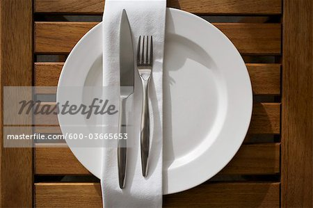 Place Setting Stock Photo - Premium Royalty-Free, Image code: 600-03665653