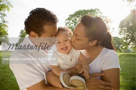 Family Outdoors Stock Photo - Premium Royalty-Free, Image code: 600-03692059