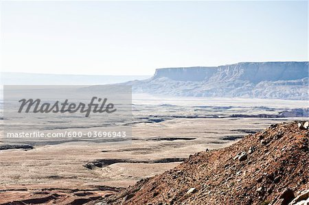 View of Desert From Highway 89, Navajo Indian Reservation, Navajo County, Arizona, USA Stock Photo - Premium Royalty-Free, Image code: 600-03696943