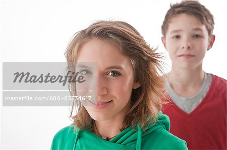 Portrait of Teenagers Stock Photo - Premium Royalty-Free, Image code: 600-03734617
