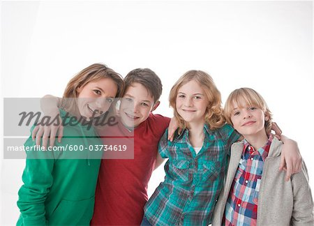 Portrait of Teenagers Stock Photo - Premium Royalty-Free, Image code: 600-03734619