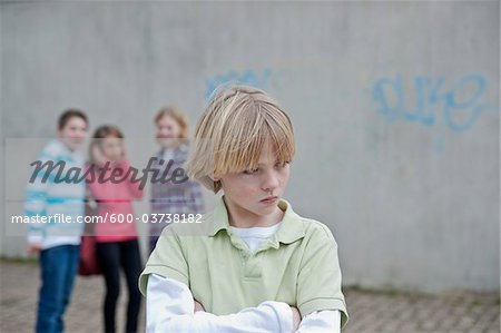 Teenagers, Mannheim, Baden-Wurttemberg, Germany Stock Photo - Premium Royalty-Free, Image code: 600-03738182