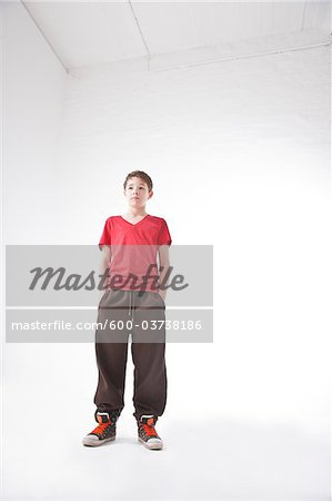 Teenage Boy Stock Photo - Premium Royalty-Free, Image code: 600-03738186