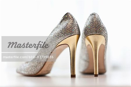 High Heel Shoes Stock Photo - Premium Royalty-Free, Image code: 600-03739035