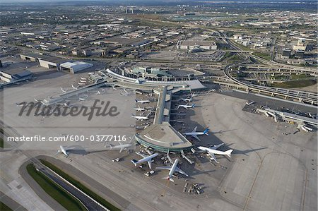 Lester B Pearson International Airport, Toronto, Ontario, Canada Stock Photo - Premium Royalty-Free, Image code: 600-03777116