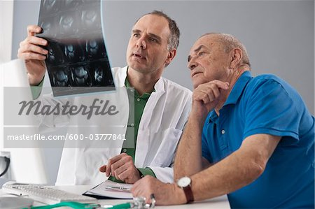Doctor and Patient Stock Photo - Premium Royalty-Free, Image code: 600-03777841