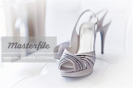 High Heeled Shoes Stock Photo - Premium Royalty-Free, Image code: 600-03778408