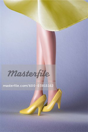 Doll Legs Stock Photo - Premium Royalty-Free, Image code: 600-03815162