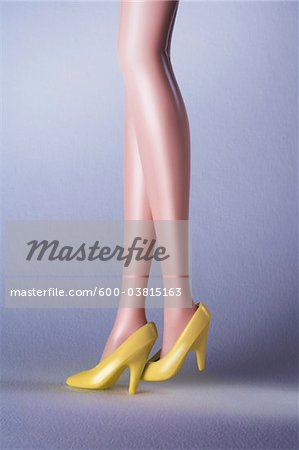 Doll Legs Stock Photo - Premium Royalty-Free, Image code: 600-03815163