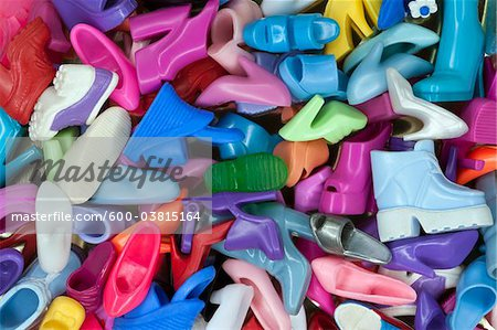 Doll Shoes Stock Photo - Premium Royalty-Free, Image code: 600-03815164