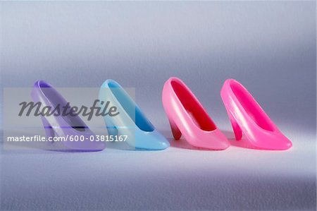Doll Shoes Stock Photo - Premium Royalty-Free, Image code: 600-03815167