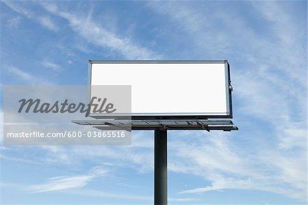 Empty Billboard, Toronto, Ontario, Canada