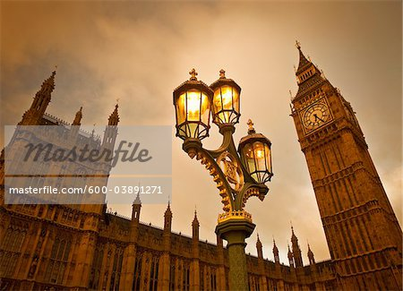 Big Ben, Westminster Palace, Westminster, London, England, United Kingdom