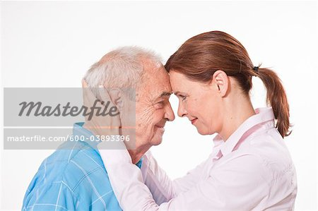 Portrait of Man and Woman Stock Photo - Premium Royalty-Free, Image code: 600-03893396