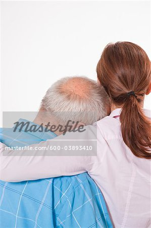Man and Woman Hugging Stock Photo - Premium Royalty-Free, Image code: 600-03893410