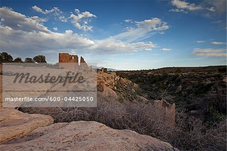 Hovenweep Castle, Little Ruin Canyon, Hovenweep National Monument, Utah, USA Stock Photo - Premium Royalty-Free, Image code: 600-04425050