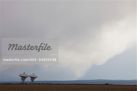 VLA Radio Telescopes, Socorro, New Mexico, USA Stock Photo - Premium Royalty-Free, Image code: 600-04425068