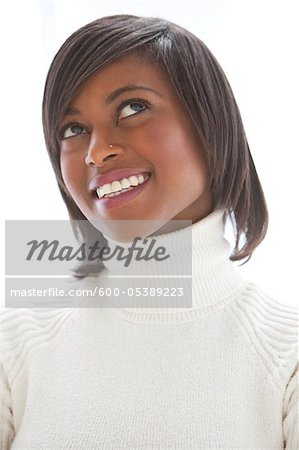 Portrait of Woman Stock Photo - Premium Royalty-Free, Image code: 600-05389223
