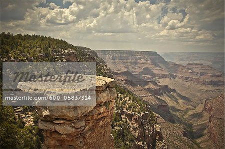 Grandview Point, Grand Canyon National Park, Arizona, USA Stock Photo - Premium Royalty-Free, Image code: 600-05837314