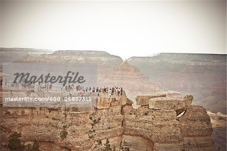 Mather Point, Grand Canyon National Park, Arizona, USA Stock Photo - Premium Royalty-Free, Image code: 600-05837315