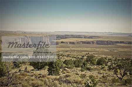 Little Colorado River Gorge, Arizona, USA Stock Photo - Premium Royalty-Free, Image code: 600-05837320