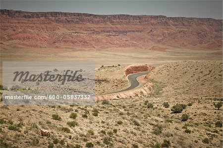 Scenic View, ALT 89, Arizona, USA Stock Photo - Premium Royalty-Free, Image code: 600-05837332