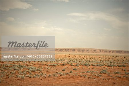Highway 160 near Mexican Water, Arizona, USA Stock Photo - Premium Royalty-Free, Image code: 600-05837339